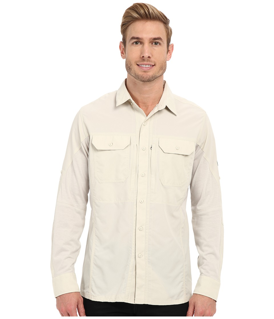 Kuhl Airspeed Long Sleeve Top Natural Mens Long Sleeve Button Up