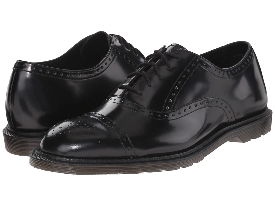 Dr. Martens - Morris Brogue Shoe (Black Temperley) Men