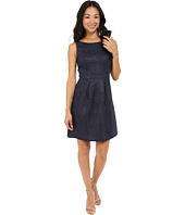 Tahari by ASL Petite - Petite Textured Jacquard Dress
