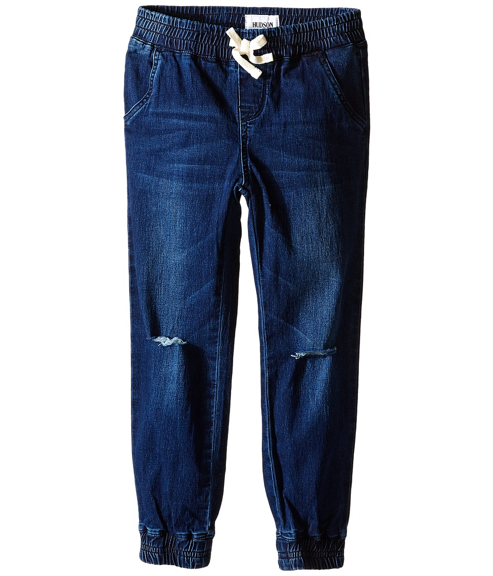Hudson Kids Addison Jogger Pants in French Blue Big Kids French Blue Girls Casual Pants