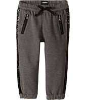 Hudson Kids - Wild Thing Jogger Sweatpants in Heather Grey/Black (Toddler/Little Kids)