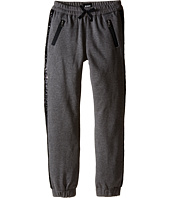 Hudson Kids - Wild Thing Jogger Sweatpants in Heather Grey/Black (Big Kids)