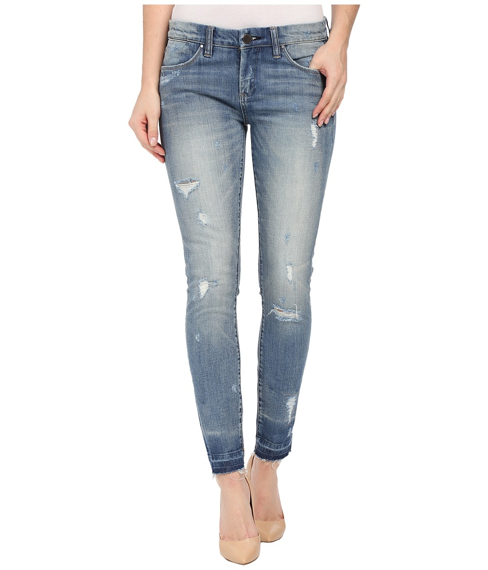 Blank NYC Released Hem Crop Skinny in Bump and Run Bump/Run Womens Jeans