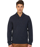 Original Penguin - Long Sleeve Pullover Shawl w/ Back Neck Tipping Details