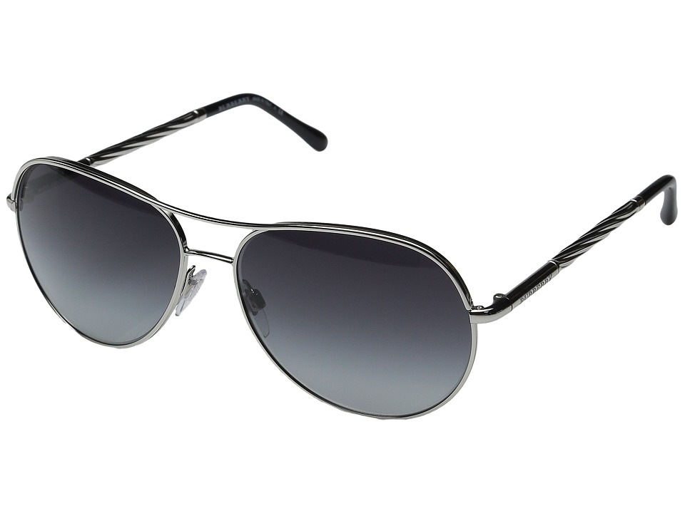Burberry 0BE3082 Silver/Gradient Grey Fashion Sunglasses