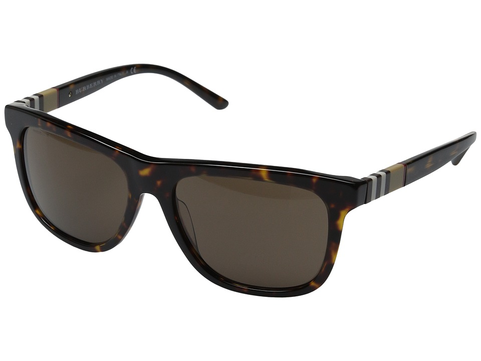 Burberry 0BE4201 Dark Tortoise/Brown Fashion Sunglasses