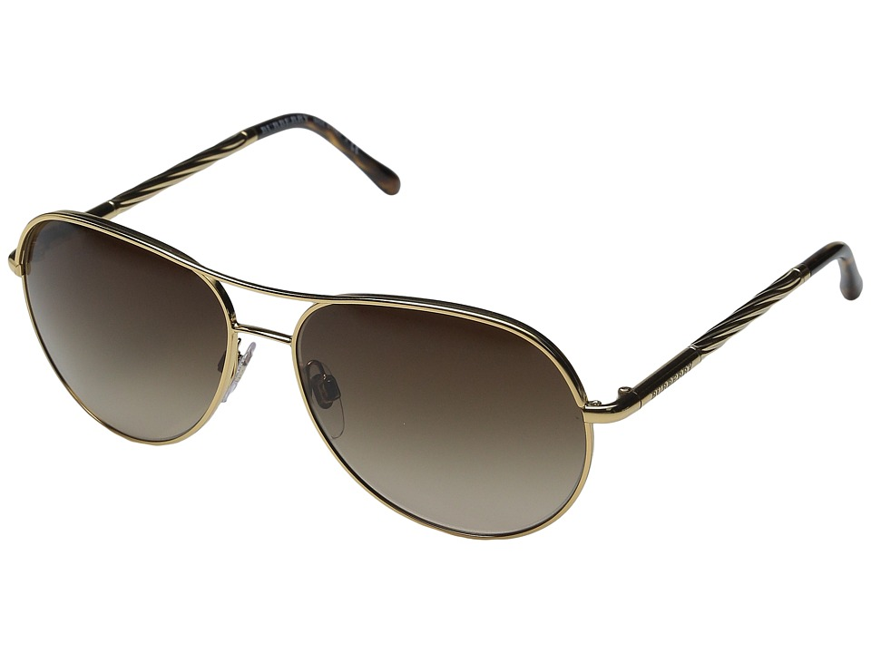 Burberry 0BE3082 Gold/Gradient Brown Fashion Sunglasses