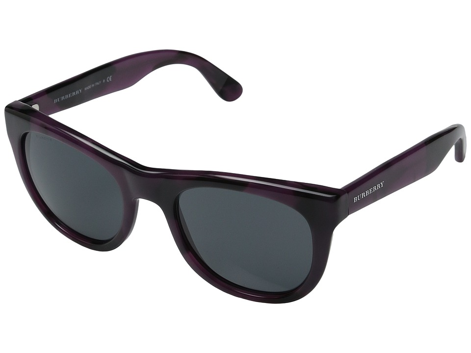 Burberry 0BE4195 Violet Horn/Grey Fashion Sunglasses