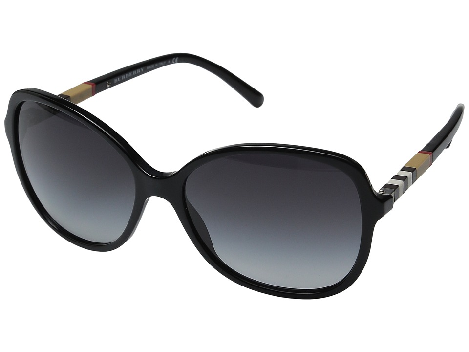 Burberry 0BE4197 Black/Gradient Grey Fashion Sunglasses