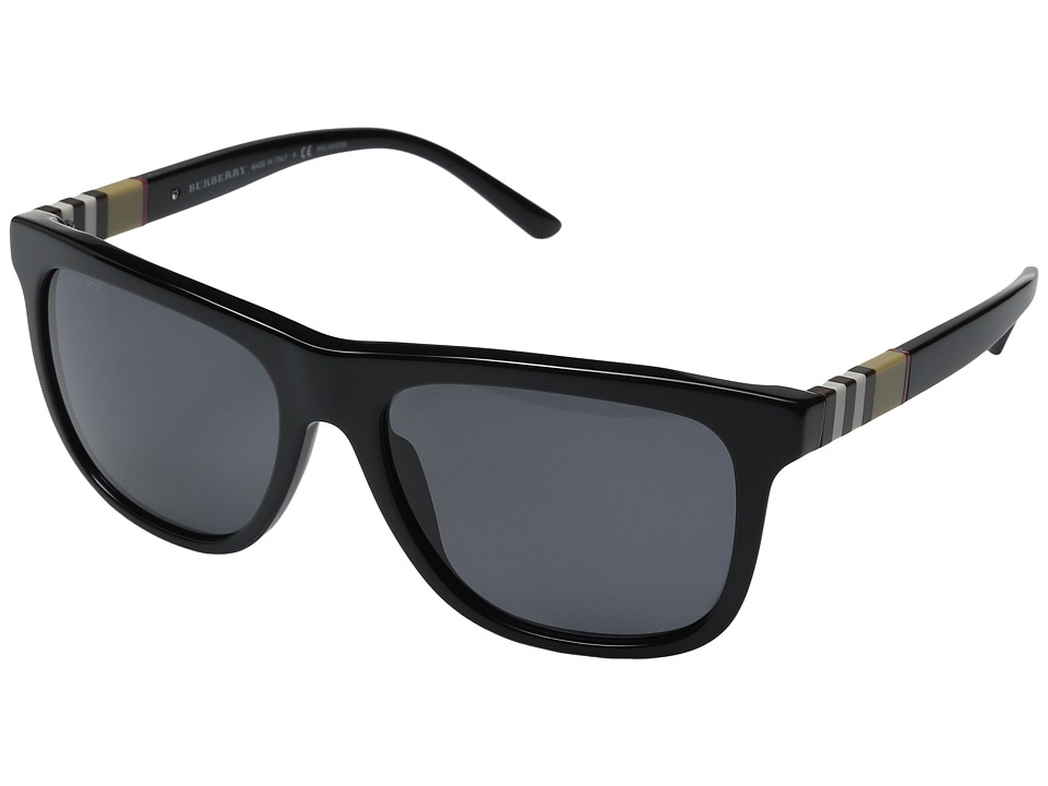 Burberry 0BE4201 Black/Polarized Grey Fashion Sunglasses