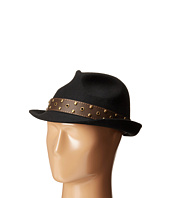 CARLOS by Carlos Santana - Wool Fedora with Teardrop Crown Hat