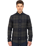 Original Penguin - Long Sleeve Plaid Brushed Cotton Shirt