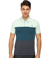 Original Penguin - Short Sleeve Heathered Tri Color Block Polo Jersey
