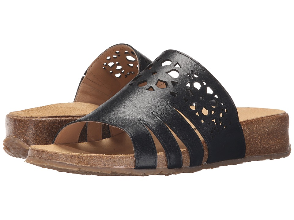 Haflinger Donna Black Womens Sandals