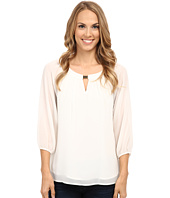 Calvin Klein - 3Q Sleeve Top with Bar Hardware