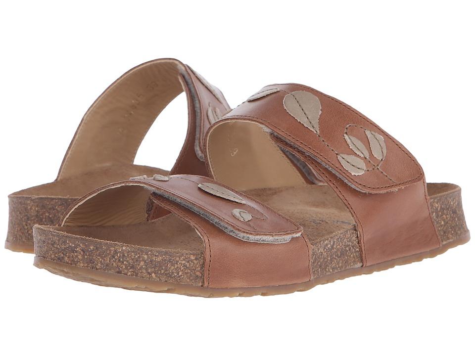 Haflinger Lucy Walnut Womens Sandals