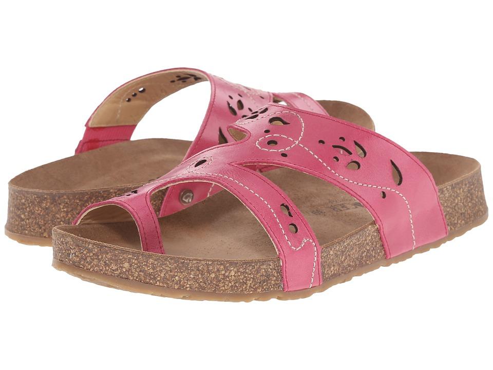 Haflinger Marcy Magenta Womens Sandals