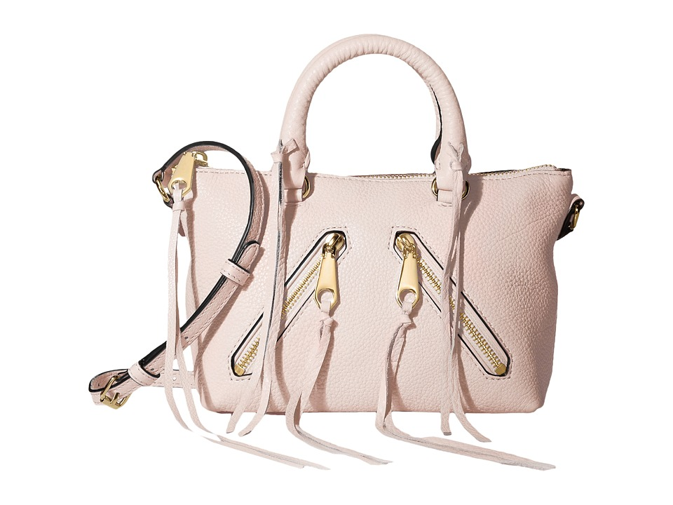 Rebecca Minkoff - Micro Moto Satchel (Baby Pink) Satchel Handbags