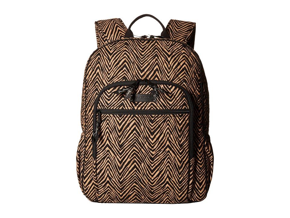 Vera Bradley - Campus Backpack (Zebra) Backpack Bags