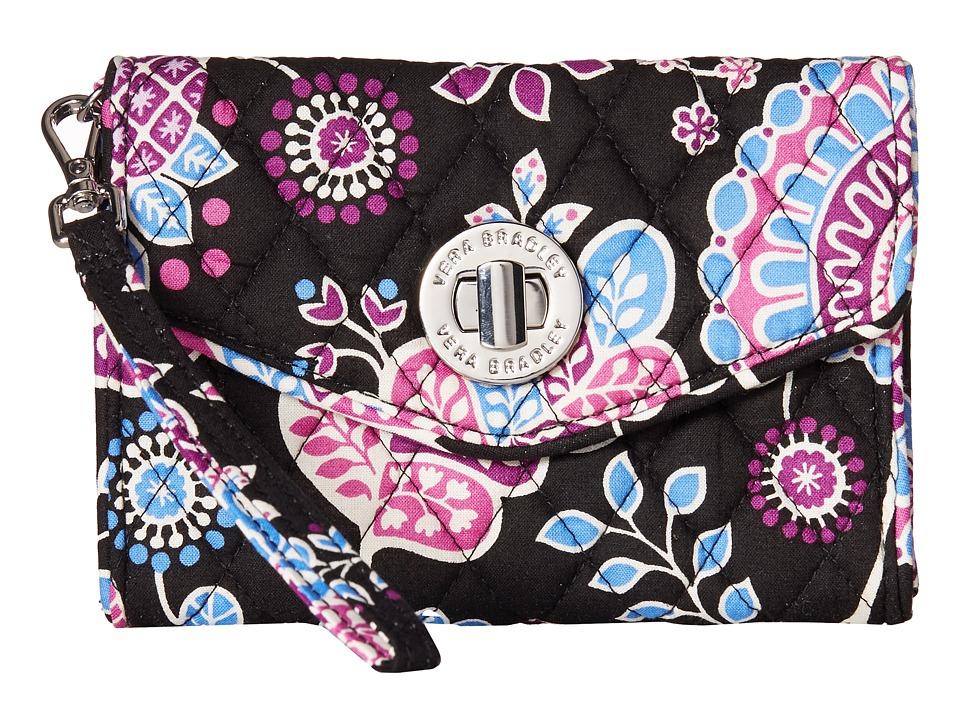 Vera Bradley Your Turn Smartphone Wristlet Alpine Floral Wristlet Handbags