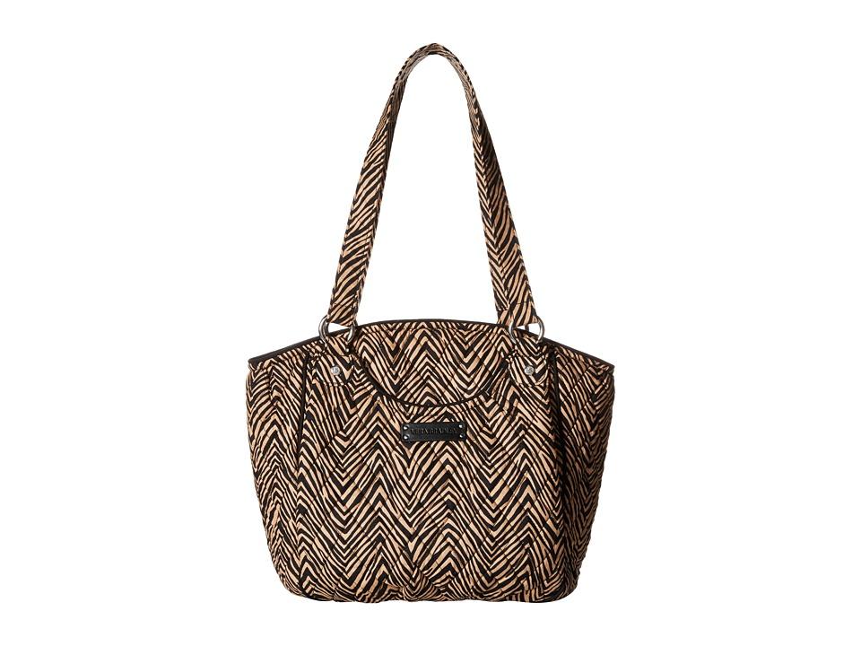 Vera Bradley Glenna Zebra Tote Handbags