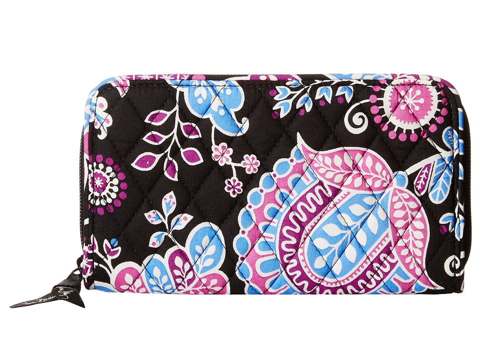 Vera Bradley Accordion Wallet Alpine Floral Wallet Handbags