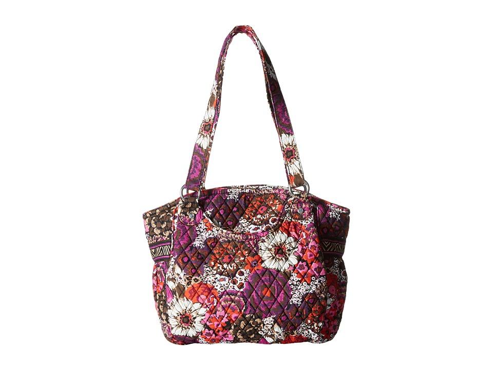 Vera Bradley Glenna Rosewood Tote Handbags