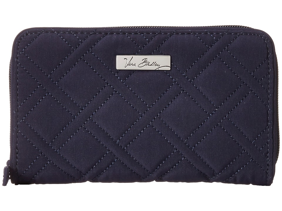 Vera Bradley Accordion Wallet Classic Navy Wallet Handbags