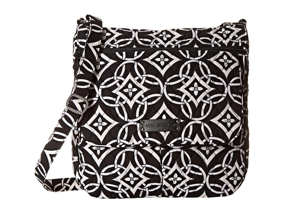 Vera Bradley Double Zip Mailbag Concerto Cross Body Handbags