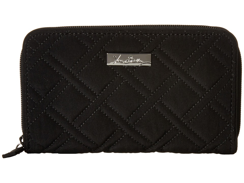 Vera Bradley Accordion Wallet Classic Black Wallet Handbags