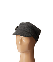 SCALA - Wool Cadet Cap with Broche Trim