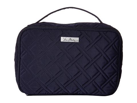 Vera Bradley Luggage Large Blush & Brush Makeup Case - Classic Navy