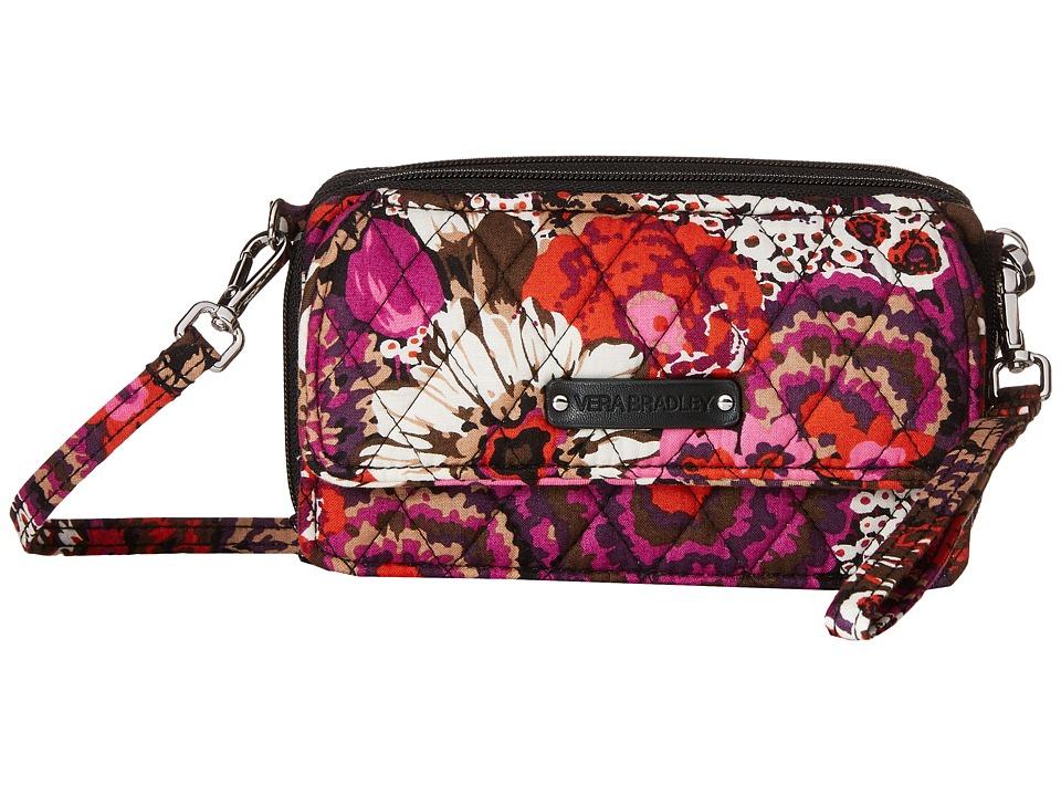 Vera Bradley All in One Crossbody for iPhone 6 Rosewood Clutch Handbags