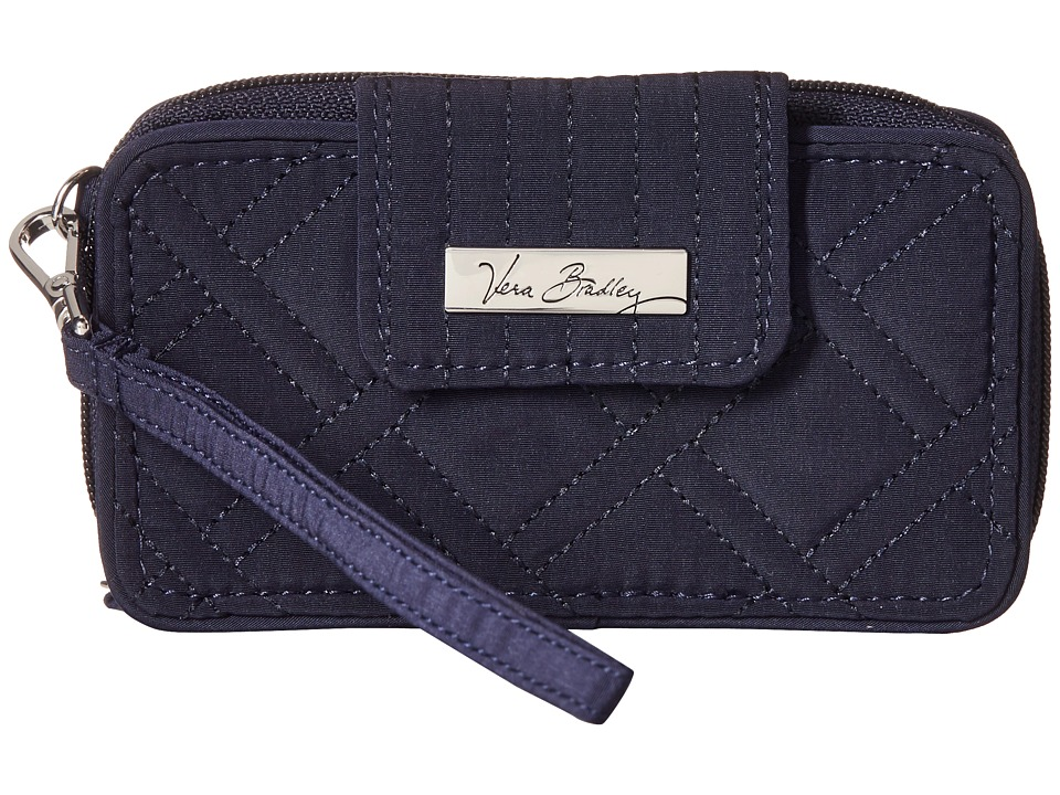 Vera Bradley Smartphone Wristlet for iPhone 6 Classic Navy Clutch Handbags