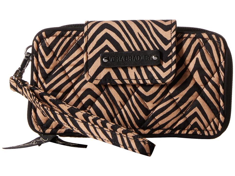 Vera Bradley Smartphone Wristlet for iPhone 6 Zebra Clutch Handbags