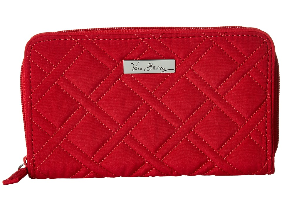 Vera Bradley Accordion Wallet Tango Red 1 Wallet Handbags