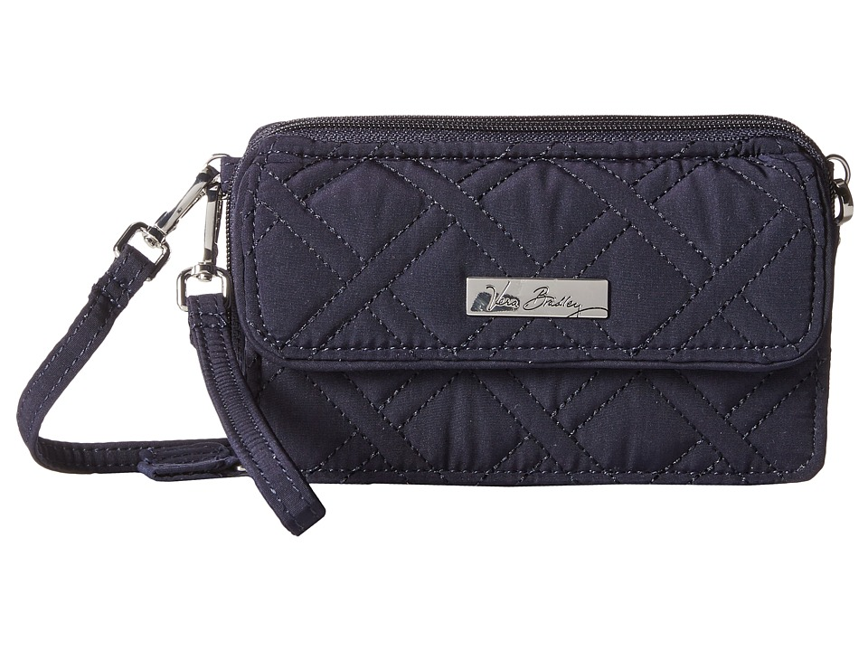 Vera Bradley All in One Crossbody for iPhone 6 Classic Navy Clutch Handbags