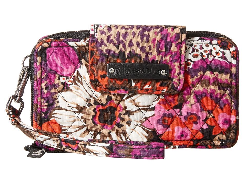 Vera Bradley Smartphone Wristlet for iPhone 6 Rosewood Clutch Handbags