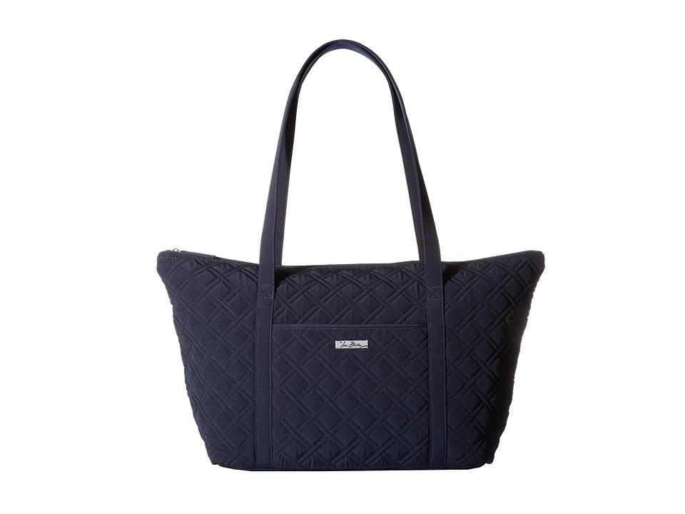 Vera Bradley Luggage - Miller Bag (Classic Navy) Tote Han...