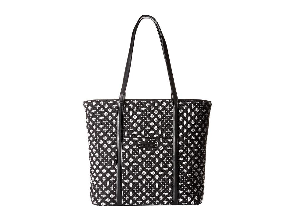 Vera Bradley Luggage - Trimmed Vera (Mini Concerto/Black) Tote Handbags