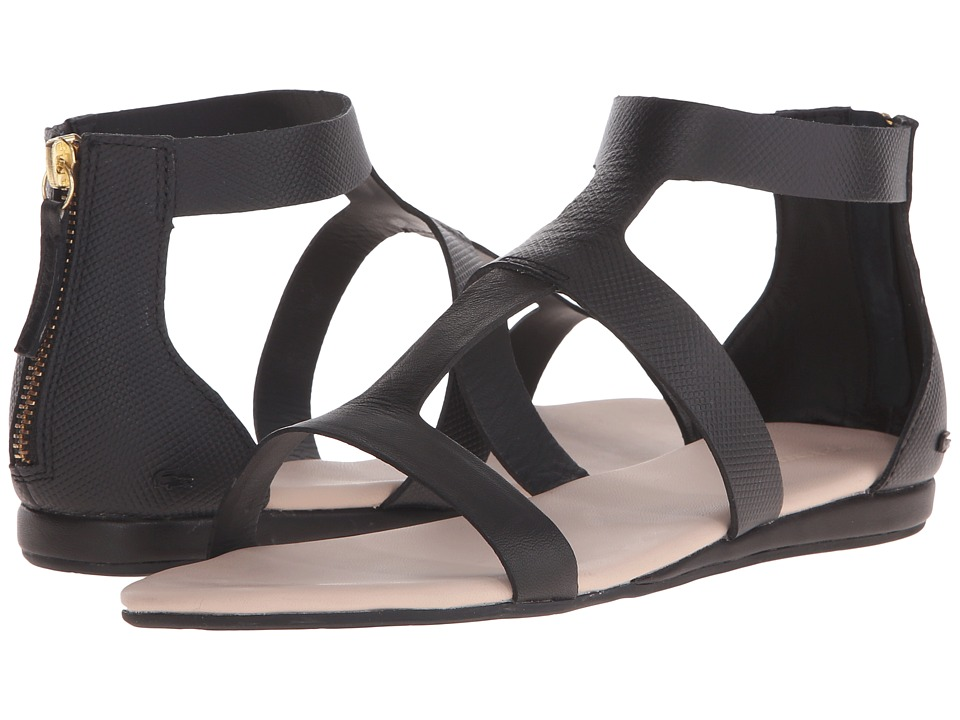 Lacoste Atalaye Black Womens Sandals