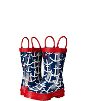 Hatley Kids - Scattered Anchors Rainboots (Toddler/Little Kid)