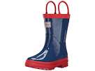 Navy & Red Rainboots (Toddler/Little Kid)