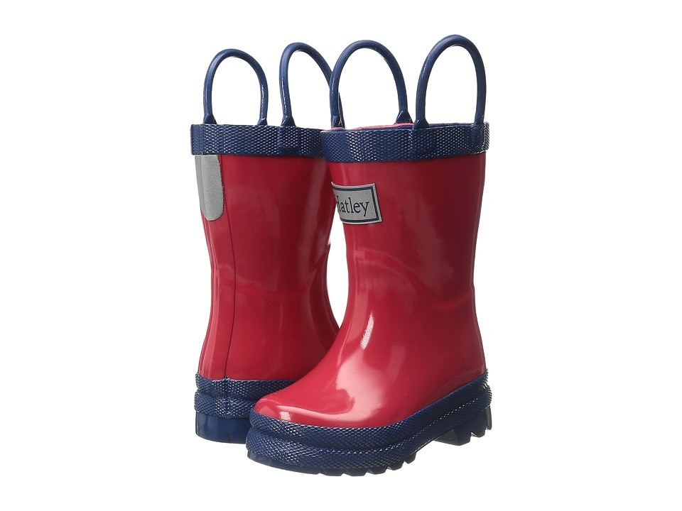Hatley Kids - Red Navy Rain Boots