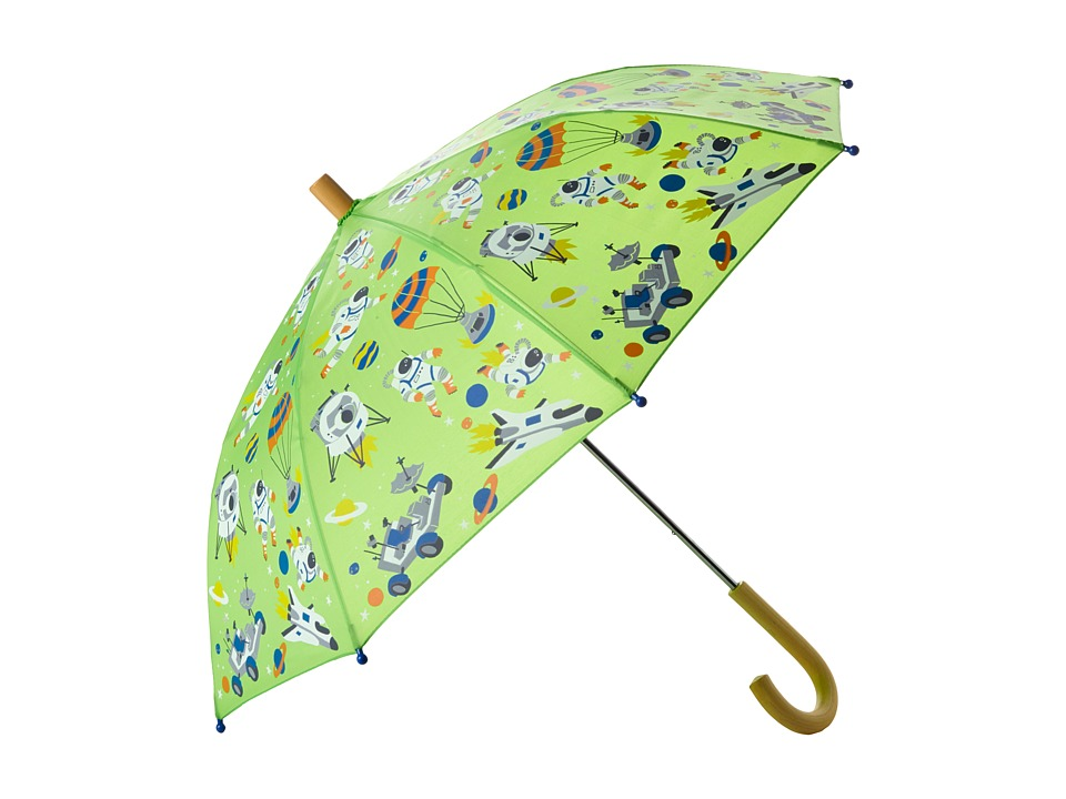 Hatley Kids Astronauts Umbrella Green Umbrella