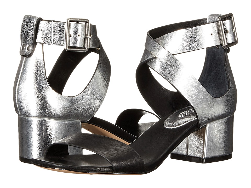Charles by Charles David Glam Silver/Black Womens Dress Sandals