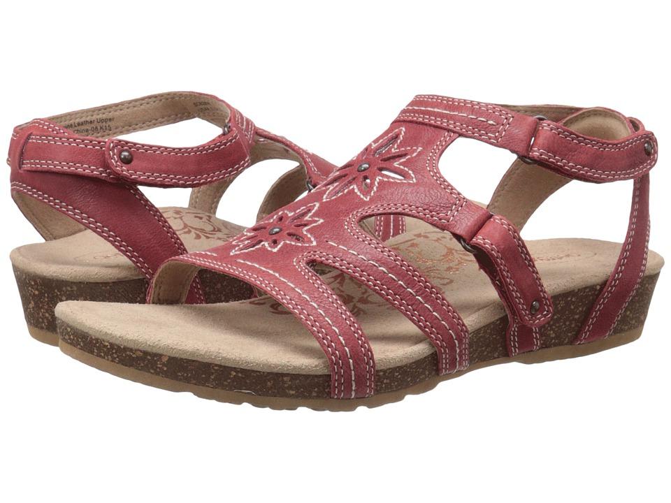 Aetrex Natasha Salmon Womens Sandals