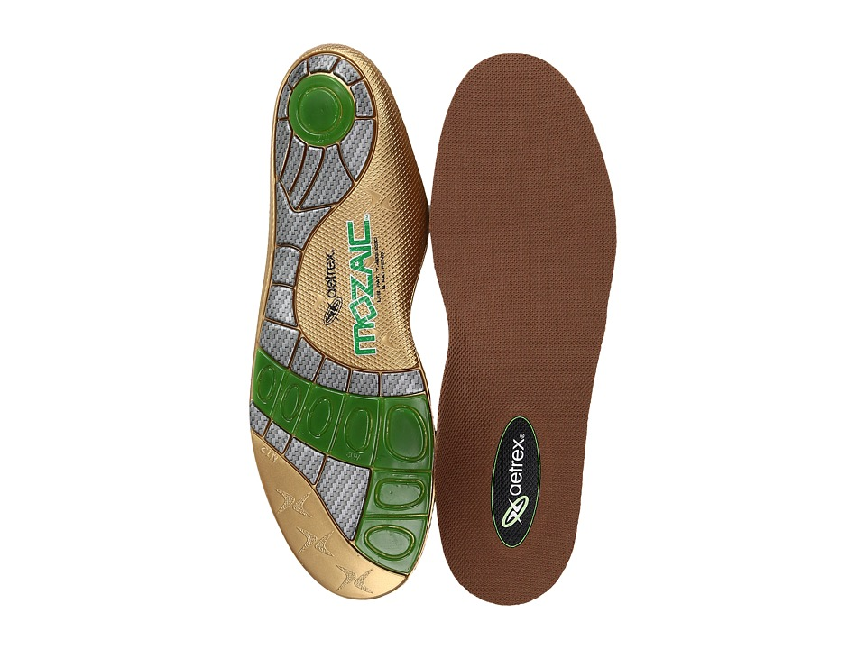 Aetrex - Customizable Orthotics - Cupped/Neutral (Multi) Mens Insoles Accessories Shoes