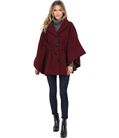 Steve Madden - Notch Collar Cape Coat