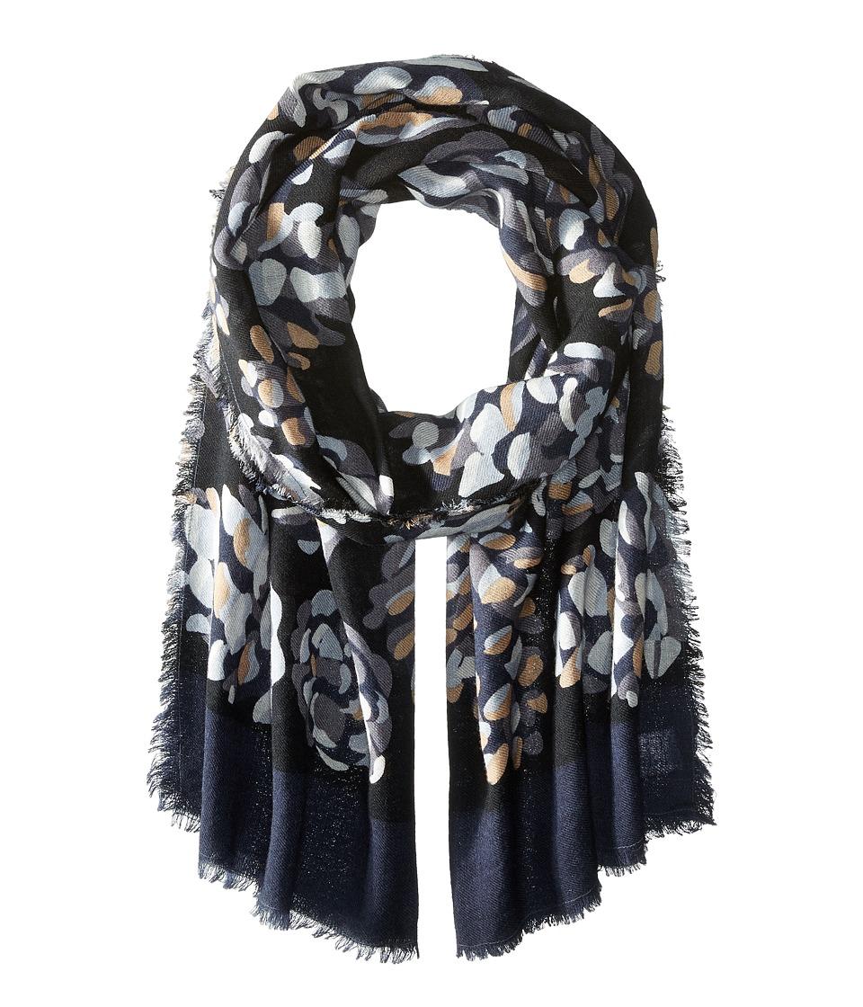 Vera Bradley Soft Wool Scarf Concerto Pinecones Scarves